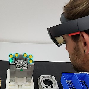 Augmented Reality mit Microsoft HoloLens